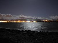 Caernarfon at night