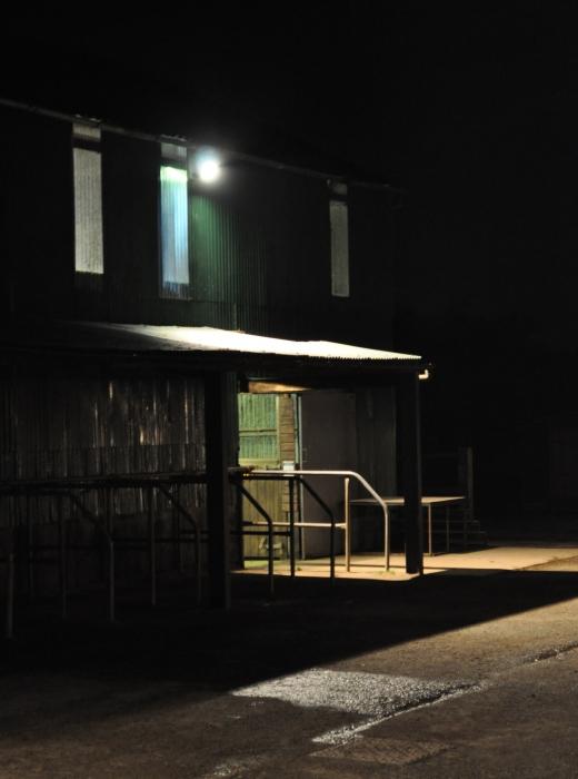 Night yard